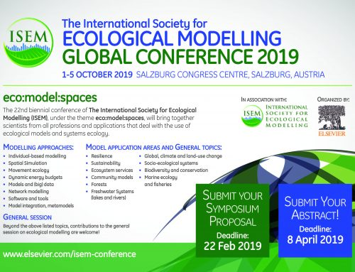 773 abstracts received! Ecological Modelling Conference, Salzburg