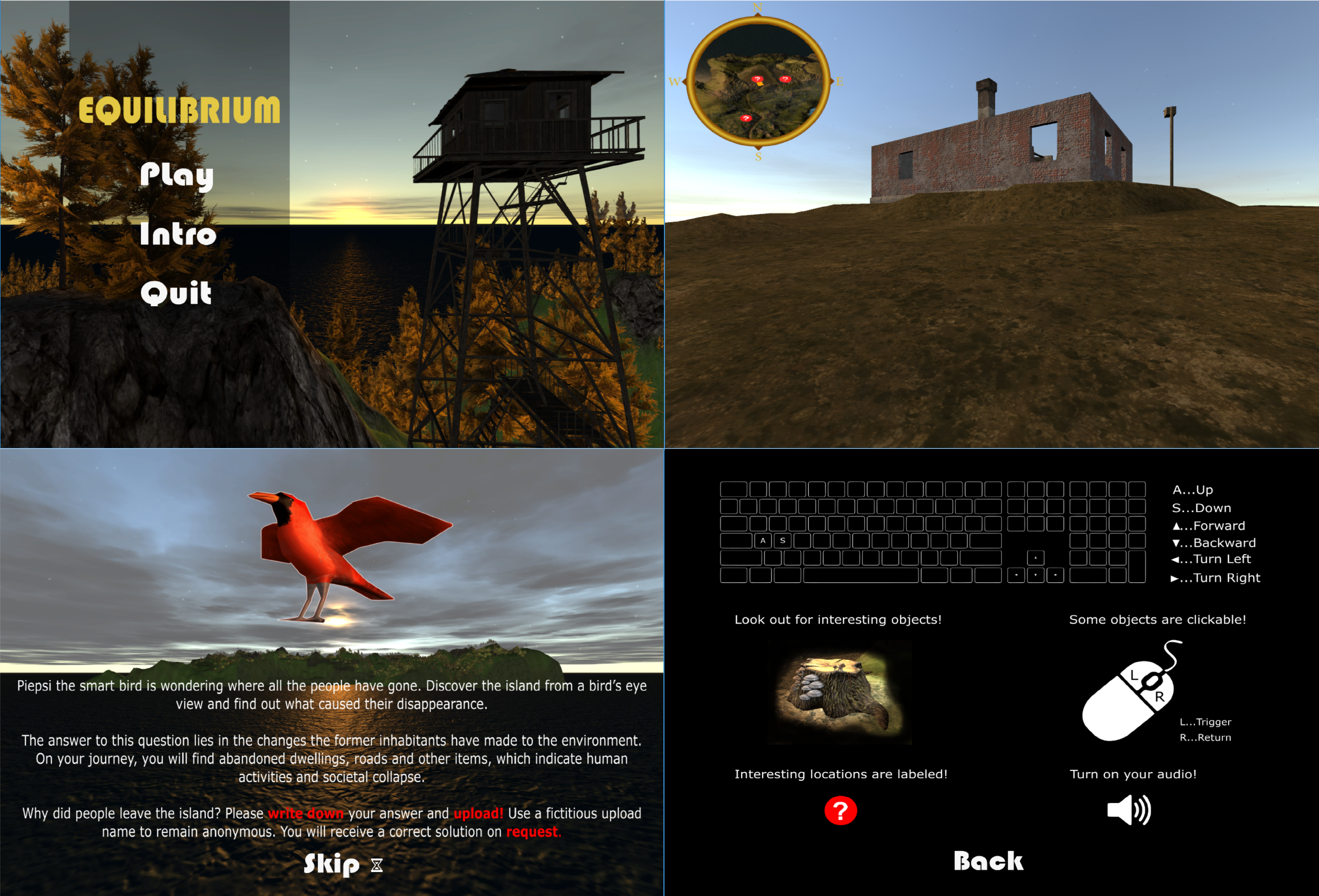 Purpose-Game EQUILIBRIUM openly published in SDR